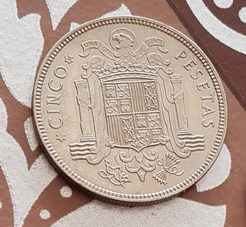 5 pesetas de 1949 *51 20190111