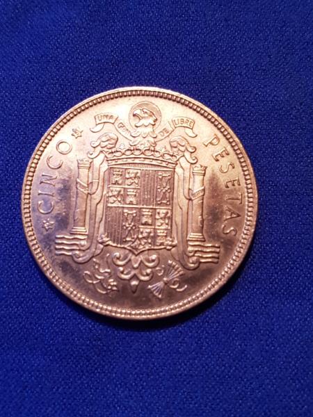 5 pesetas de 1949 (*19-51). Estado Español. Opinión 20190115