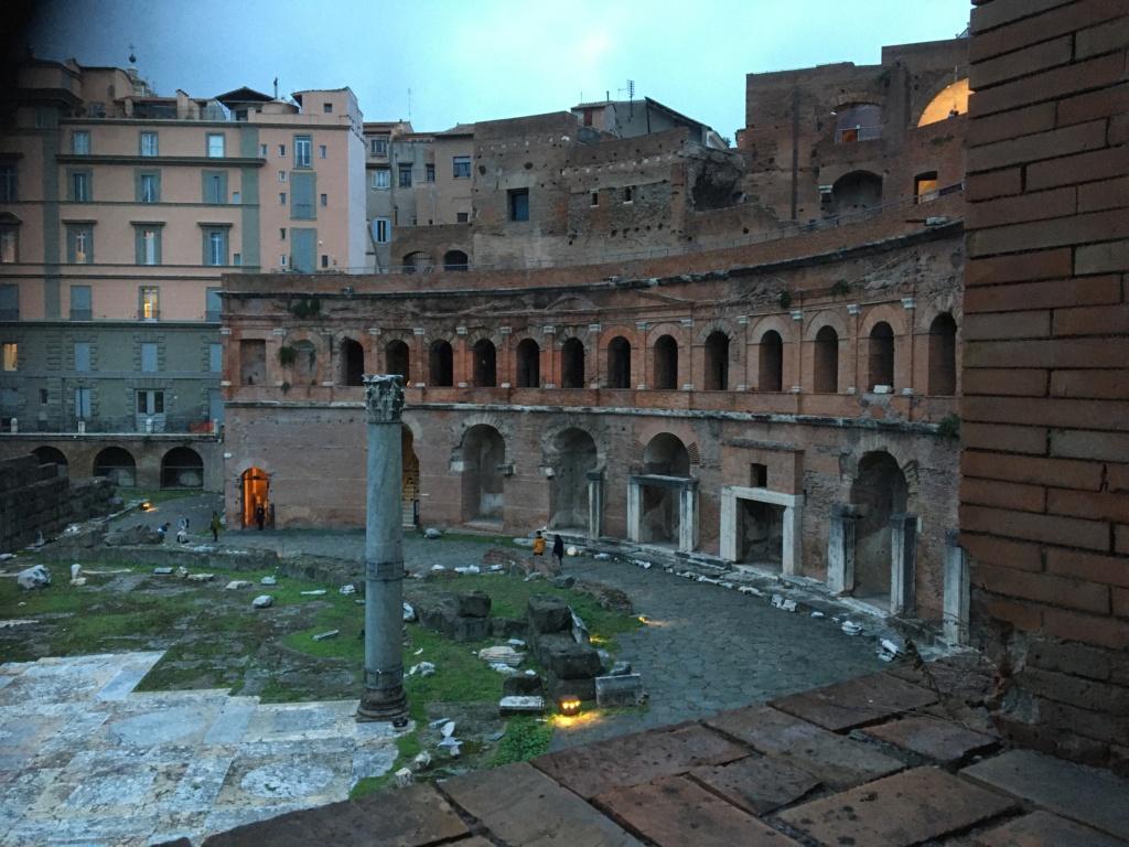 Museo de los Foros Imperiales, Mercado de Trajano, Roma 1967fb10