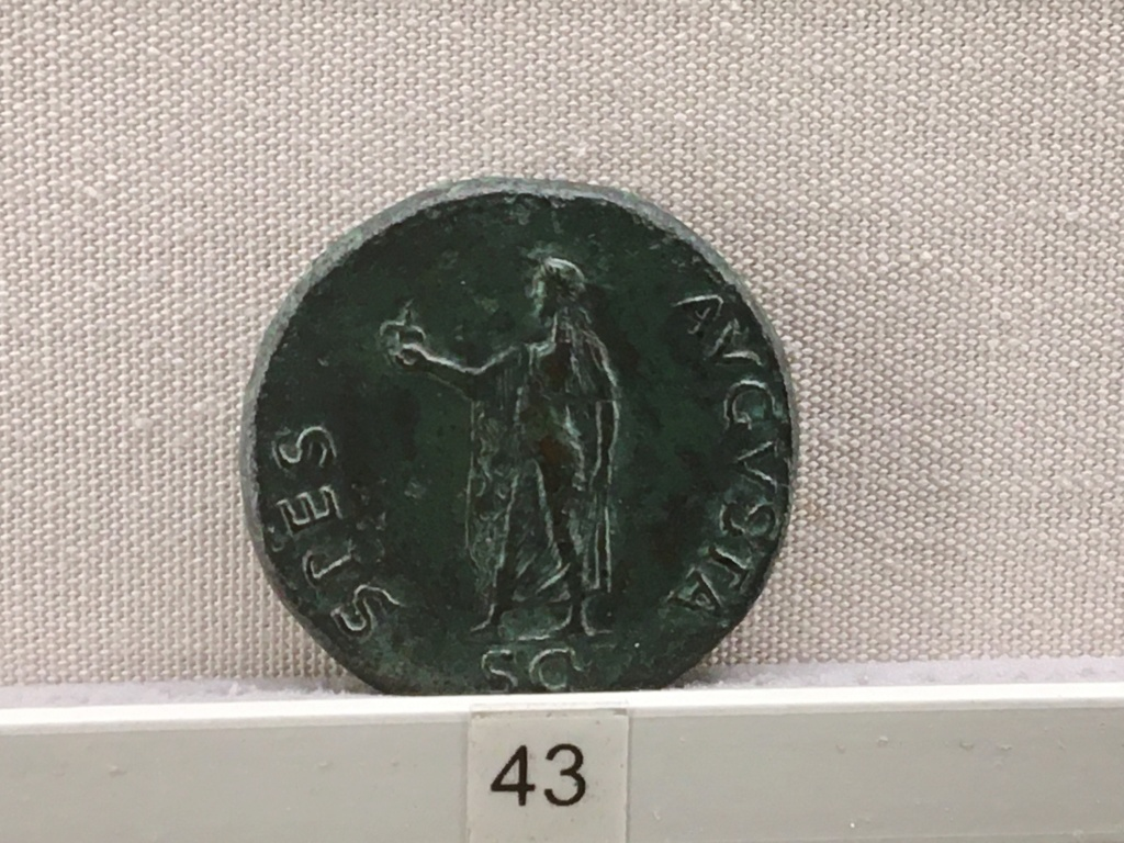 Sala numismatica Museo Nacional Romano en Palazzo Massimo (Alto Imperio), Roma 6502fb10