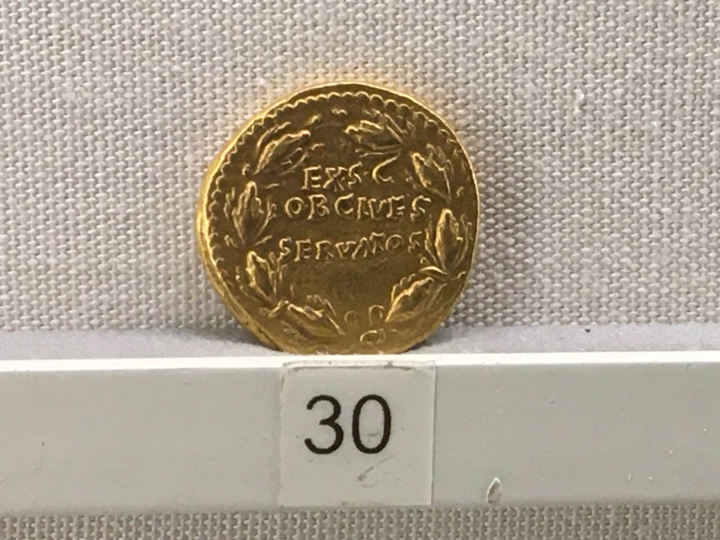 Sala numismatica Museo Nacional Romano en Palazzo Massimo (Alto Imperio), Roma 76c98d10