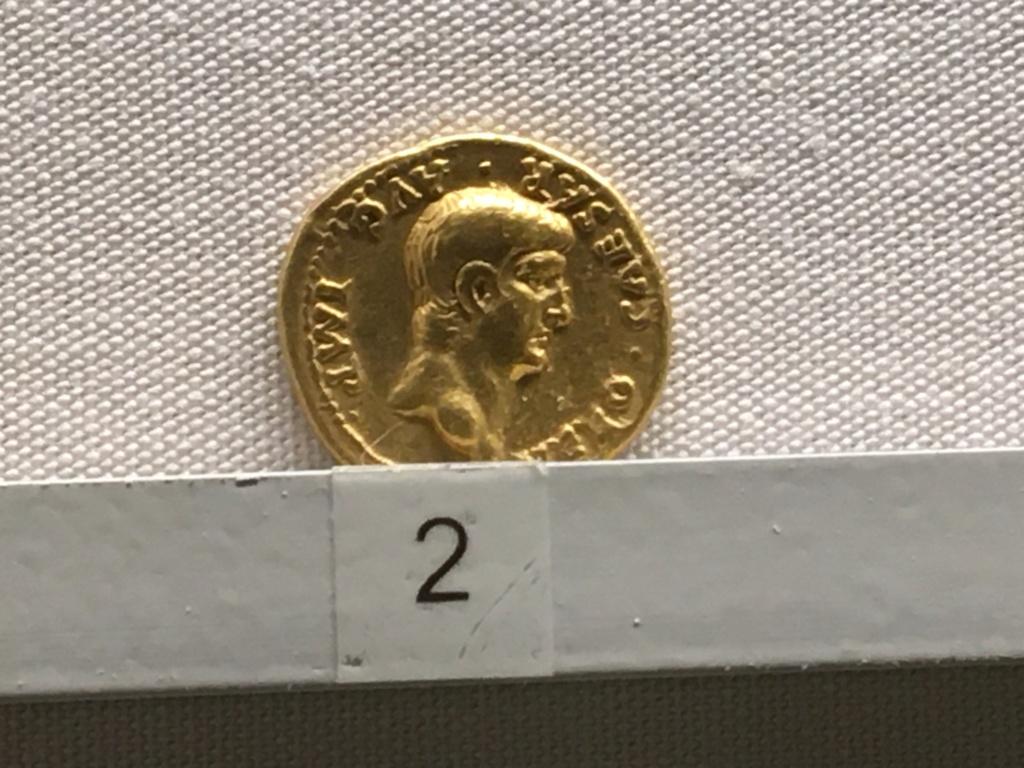 Sala numismatica Museo Nacional Romano en Palazzo Massimo (Alto Imperio), Roma 7f388210