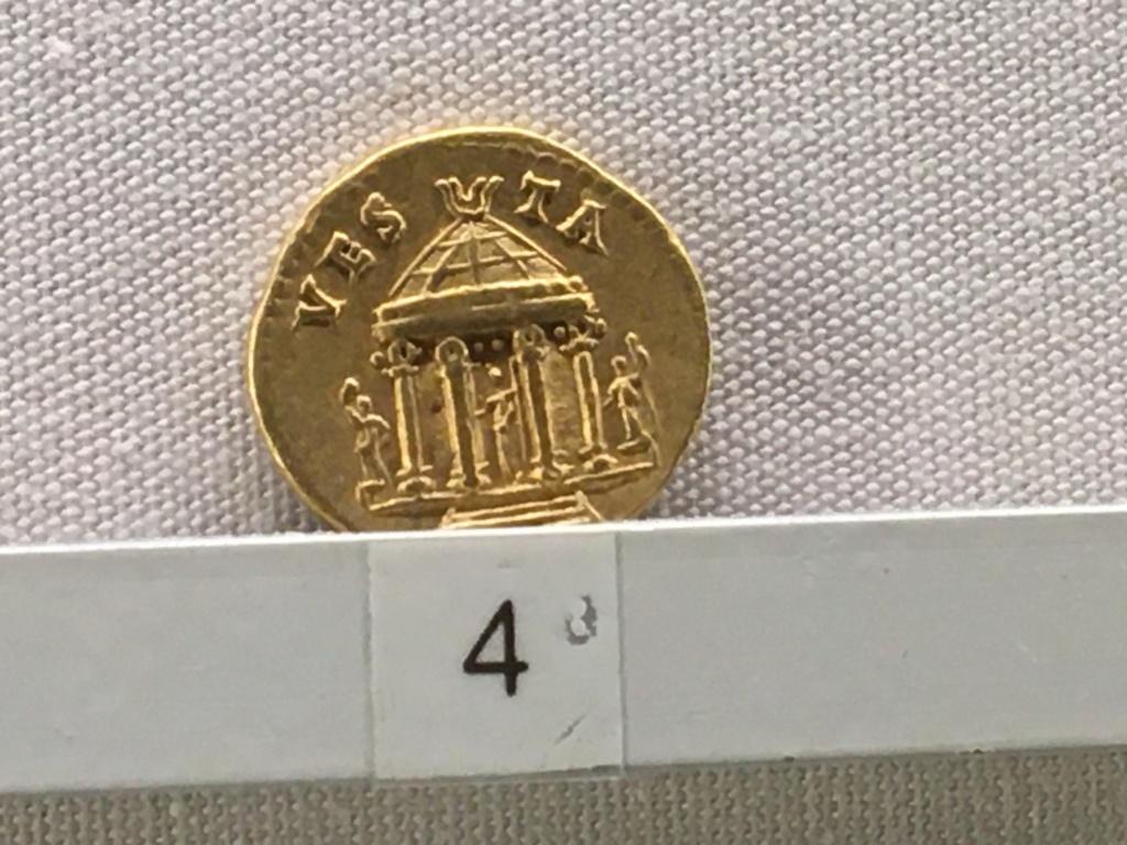 Sala numismatica Museo Nacional Romano en Palazzo Massimo (Alto Imperio), Roma 9a9a7710