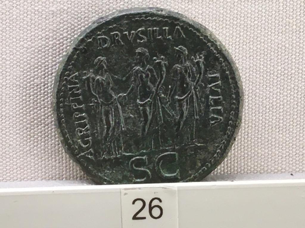 Sala numismatica Museo Nacional Romano en Palazzo Massimo (Alto Imperio), Roma 9eba4110