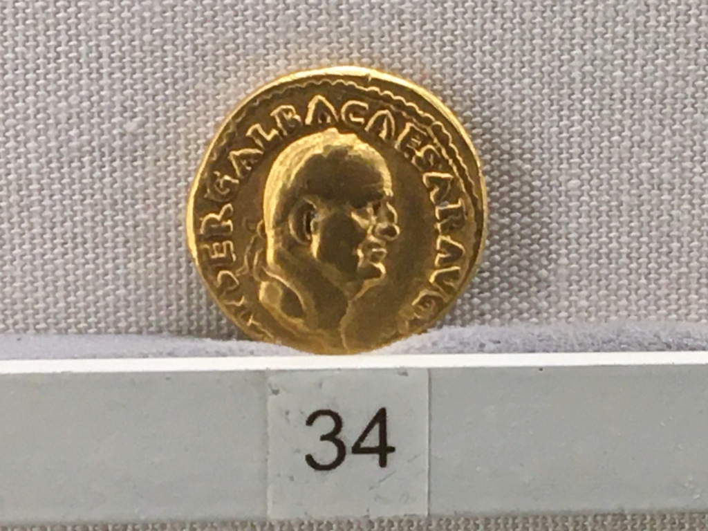 Sala numismatica Museo Nacional Romano en Palazzo Massimo (Alto Imperio), Roma A9b30a10