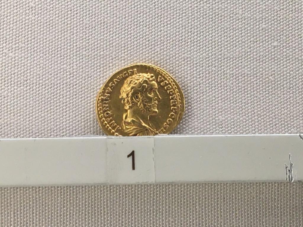 Sala numismatica Museo Nacional Romano en Palazzo Massimo (Alto Imperio), Roma Antoni11
