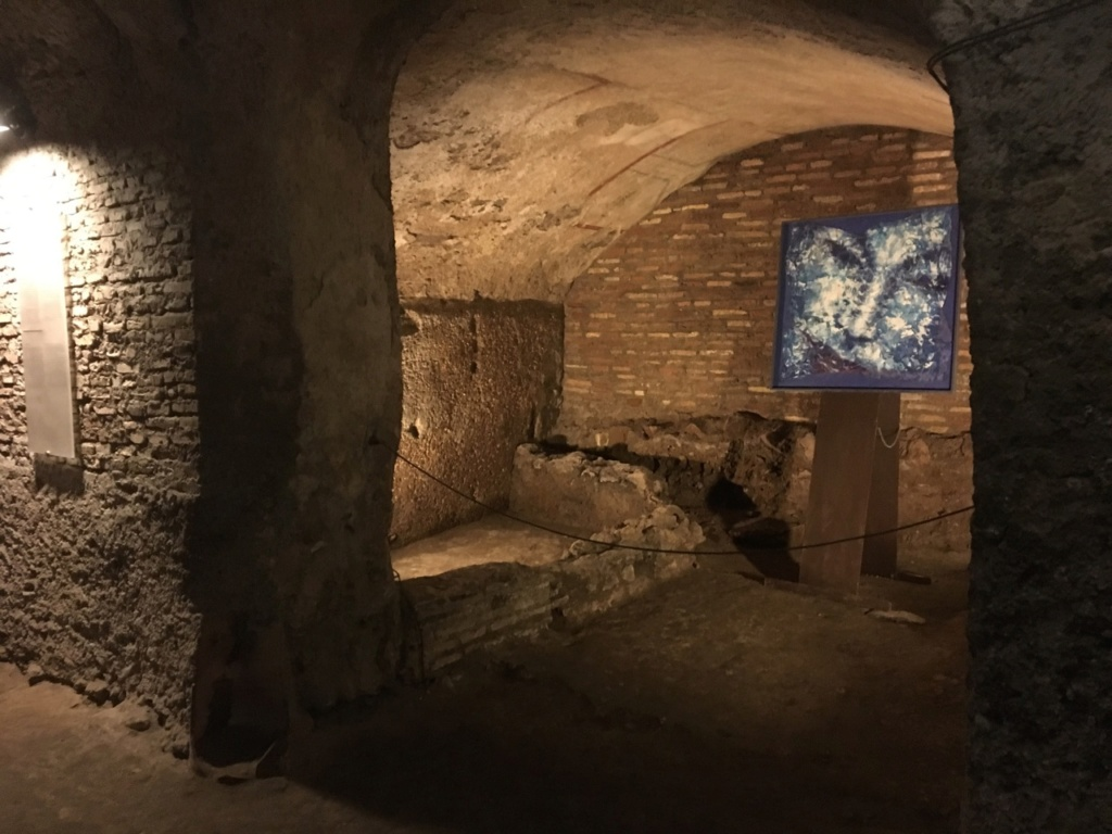 Las casas romanas del Celio, Roma Bodega11