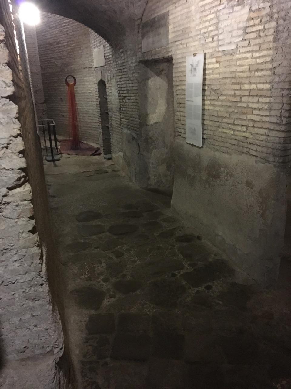 Las casas romanas del Celio, Roma Callej10