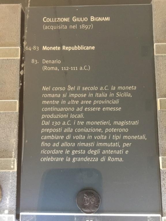 Colección Giulio Bignami (1897). Museos Capitolinos Roma Gb810