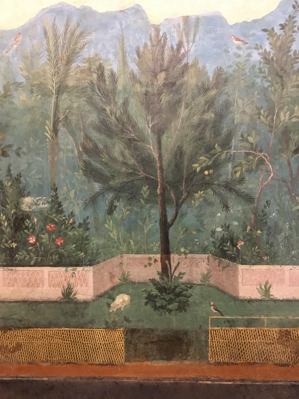 Jardín pintado de Livia, Palacio Máximo, Roma Jardzy10