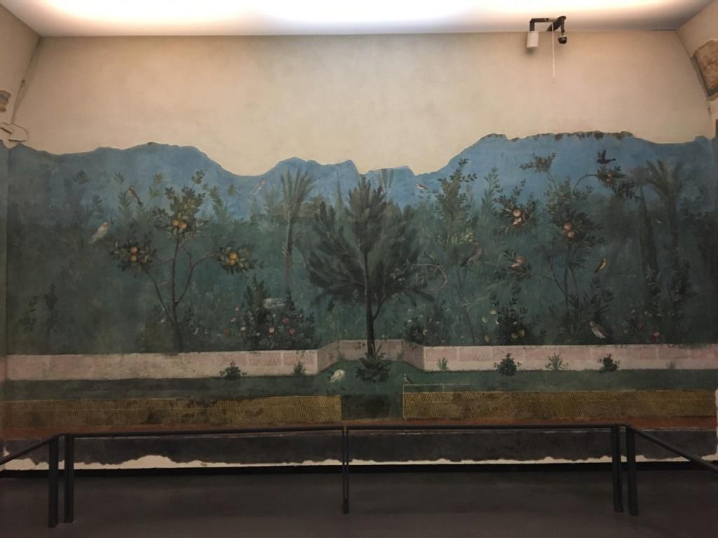 Jardín pintado de Livia, Palacio Máximo, Roma Jardzy11
