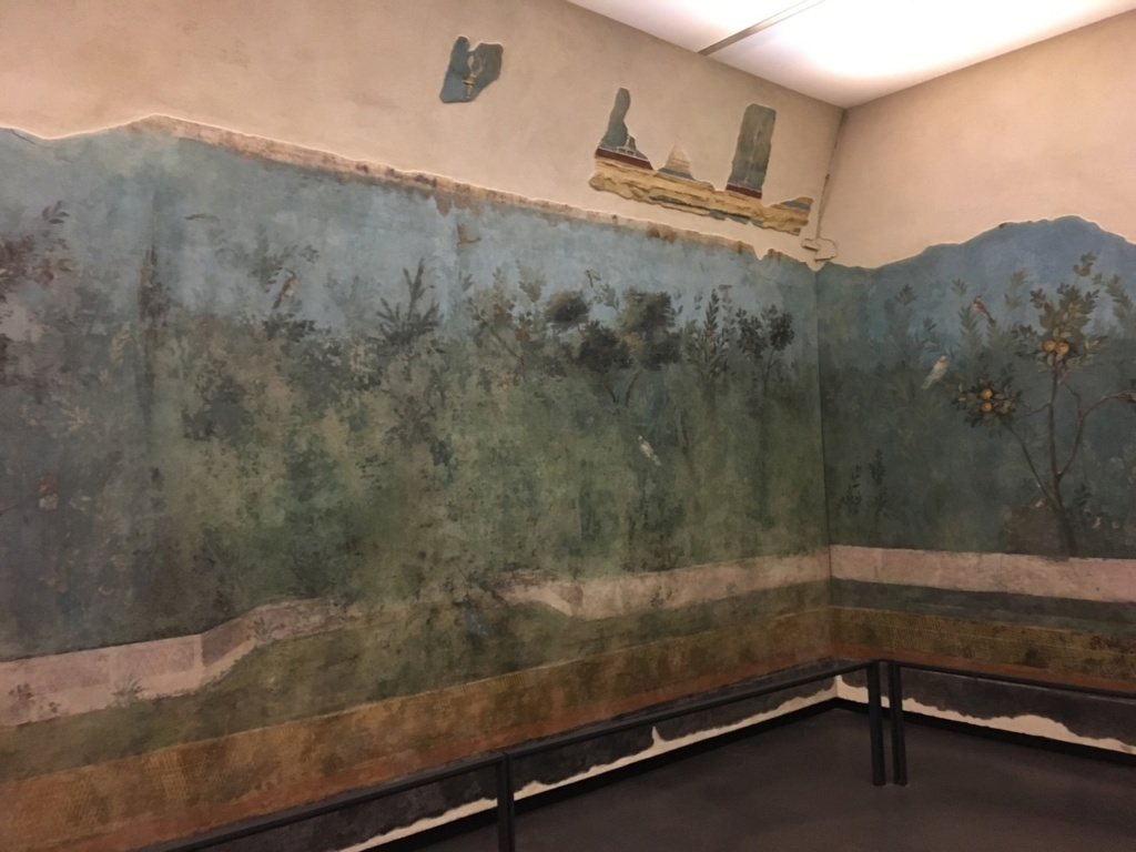 Jardín pintado de Livia, Palacio Máximo, Roma Jardzy12