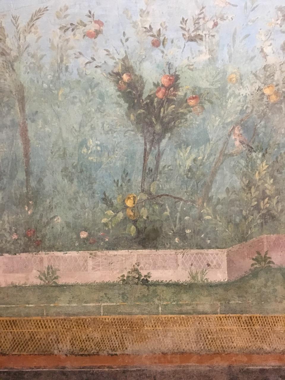 Jardín pintado de Livia, Palacio Máximo, Roma Jardzy13