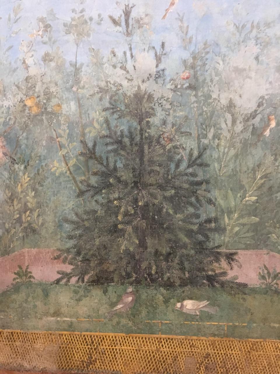 Jardín pintado de Livia, Palacio Máximo, Roma Jardzy14
