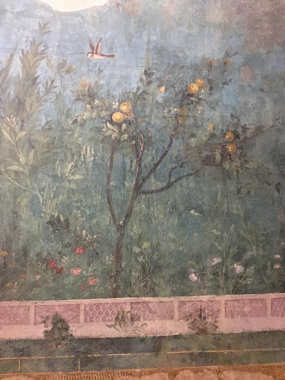 Jardín pintado de Livia, Palacio Máximo, Roma Jardzy15
