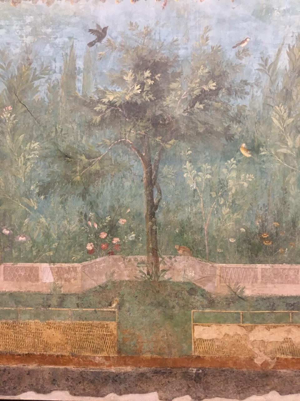 Jardín pintado de Livia, Palacio Máximo, Roma Jardzy16