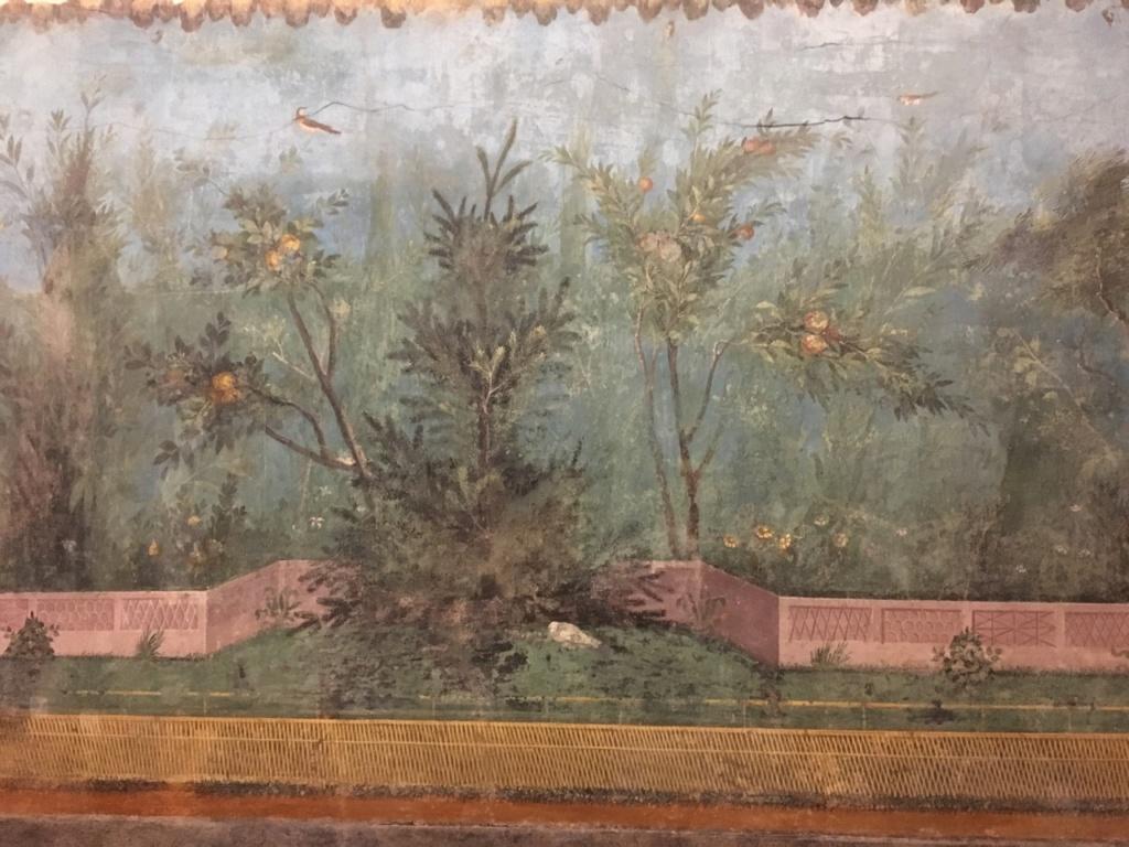 Jardín pintado de Livia, Palacio Máximo, Roma Jardzy17