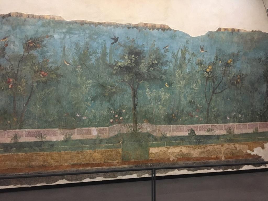 Jardín pintado de Livia, Palacio Máximo, Roma Jardzy18
