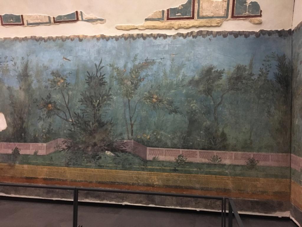 Jardín pintado de Livia, Palacio Máximo, Roma Jardzy19