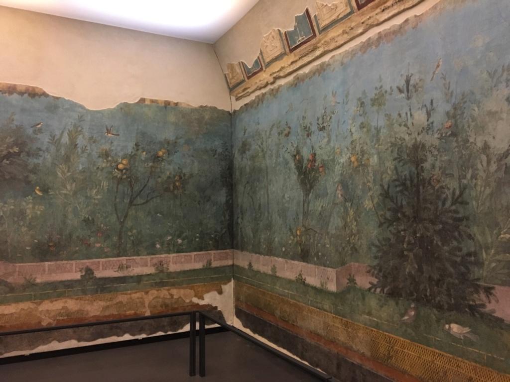 Jardín pintado de Livia, Palacio Máximo, Roma Jardzy20