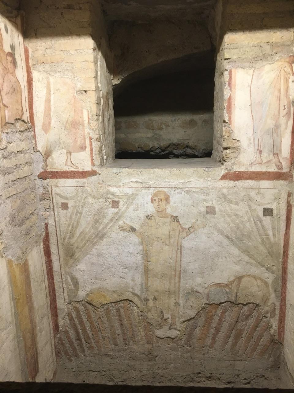 Las casas romanas del Celio, Roma Martir10