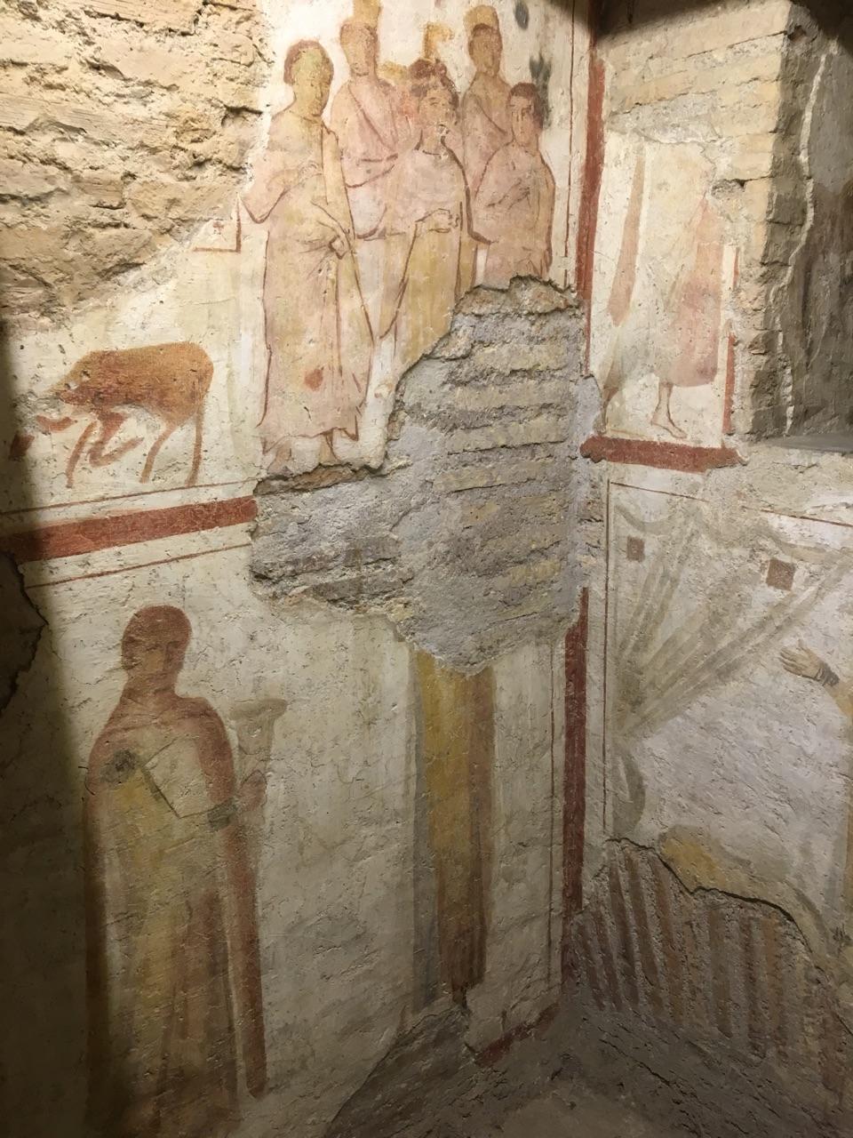 Las casas romanas del Celio, Roma Martir11