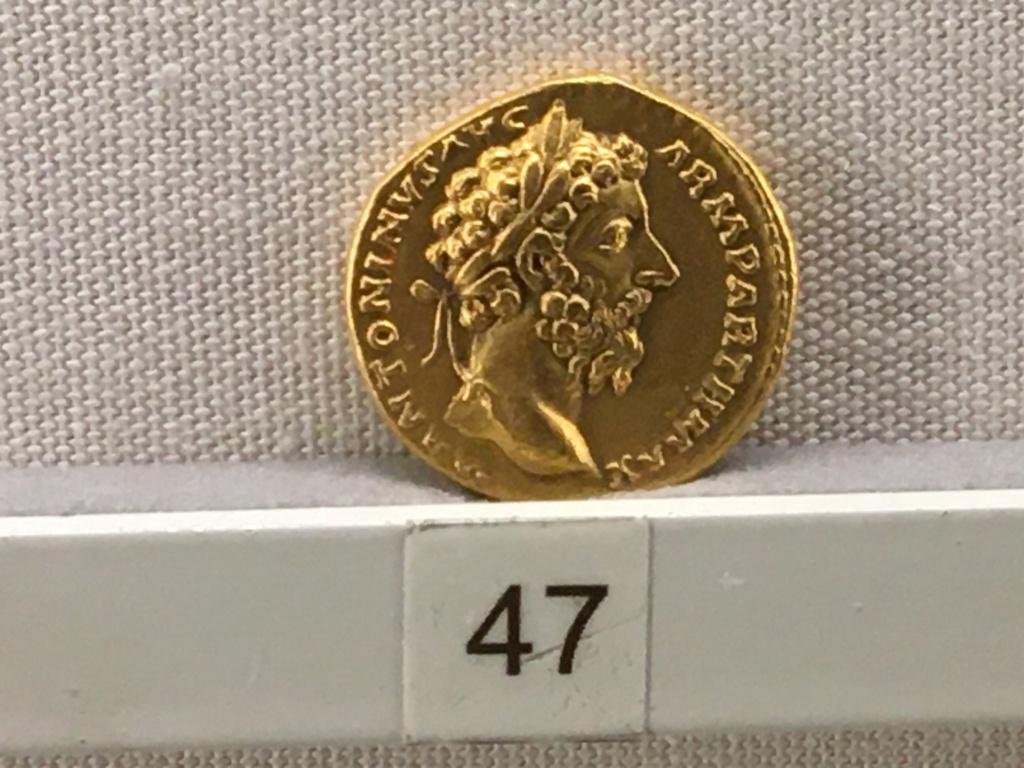 Sala numismatica Museo Nacional Romano en Palazzo Massimo (Alto Imperio), Roma Maurle10