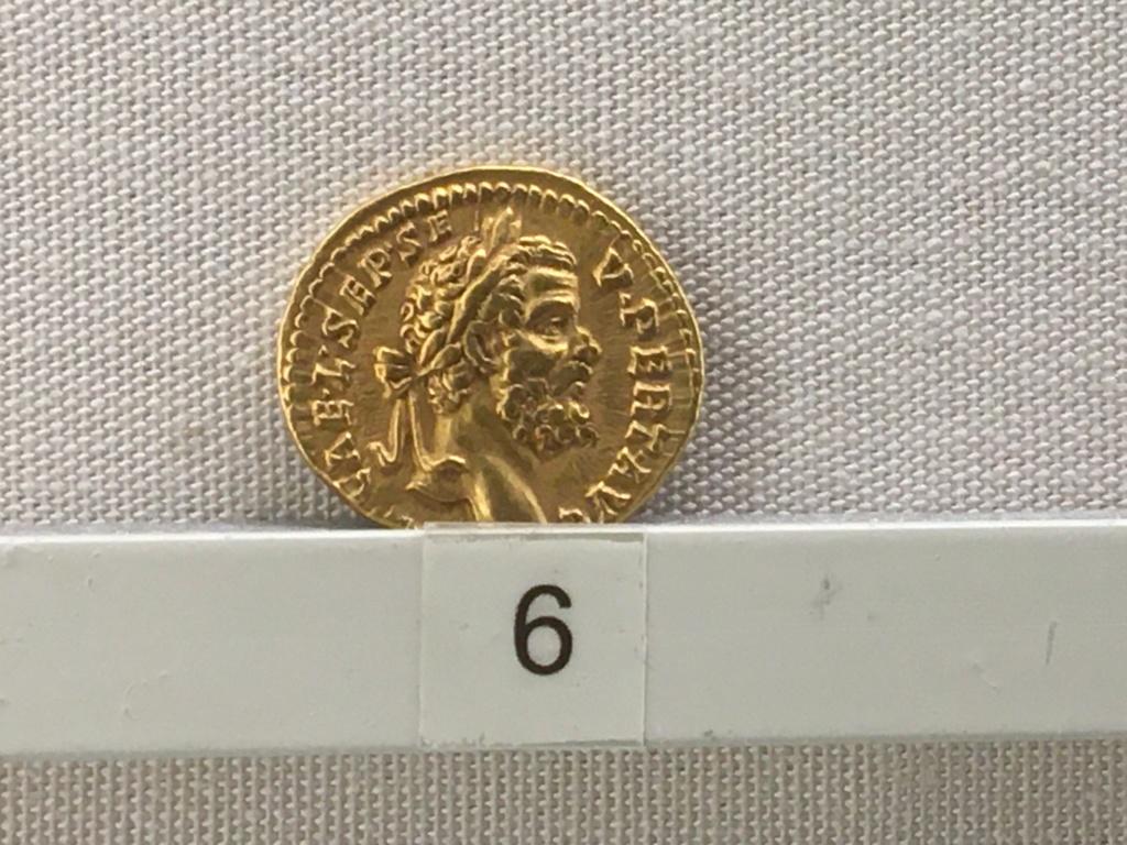 Sala numismatica Museo Nacional Romano en Palazzo Massimo (Alto Imperio), Roma Niger10