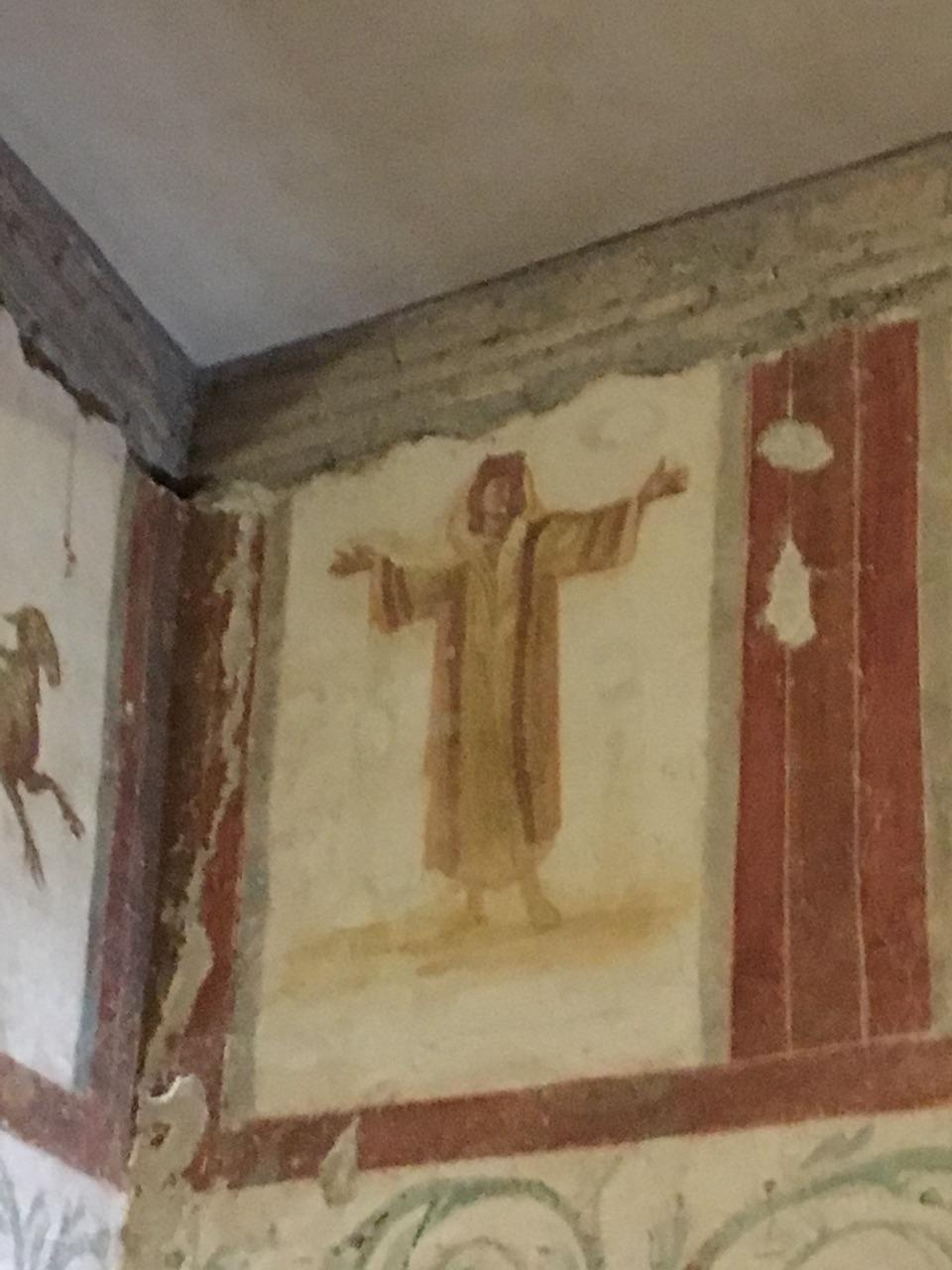 Las casas romanas del Celio, Roma Orante10