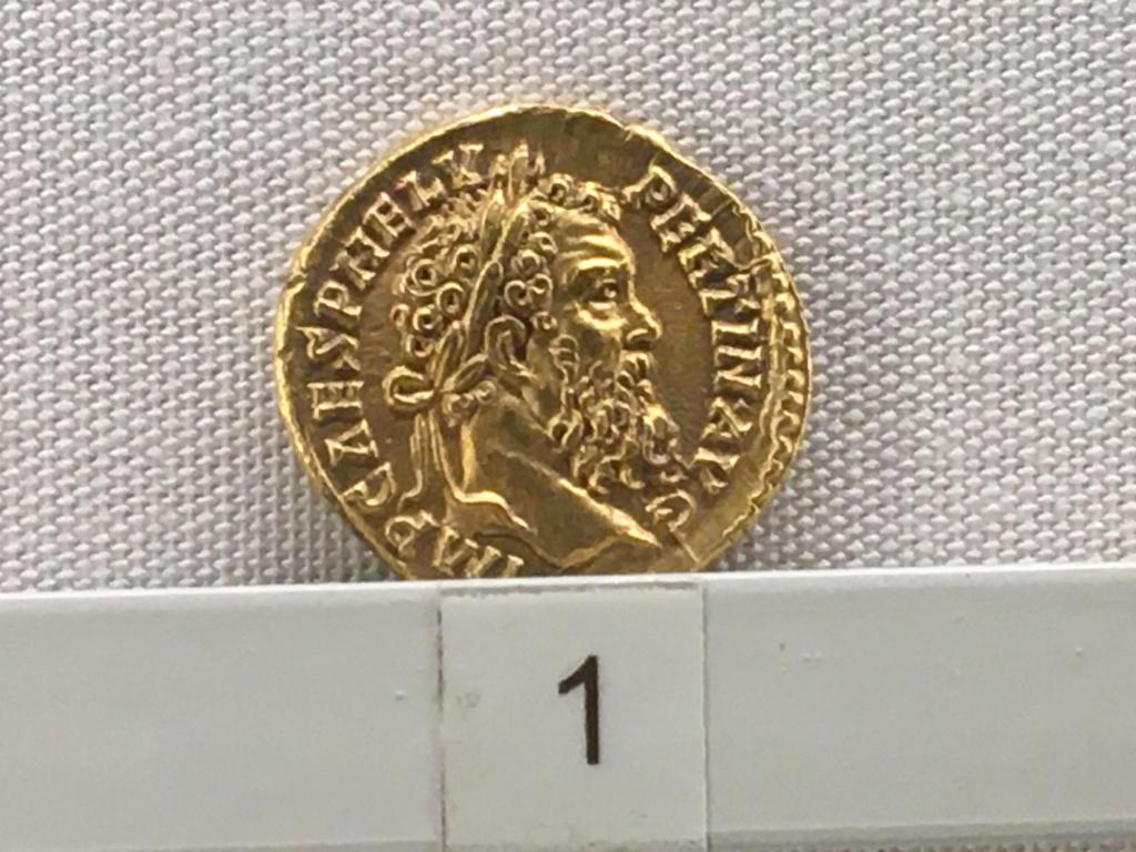 Sala numismatica Museo Nacional Romano en Palazzo Massimo (Alto Imperio), Roma Pertin10