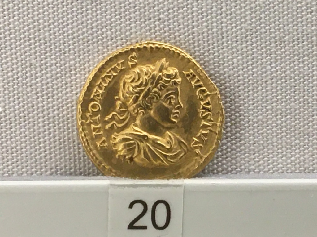 Sala numismatica Museo Nacional Romano en Palazzo Massimo (Alto Imperio), Roma Severo10