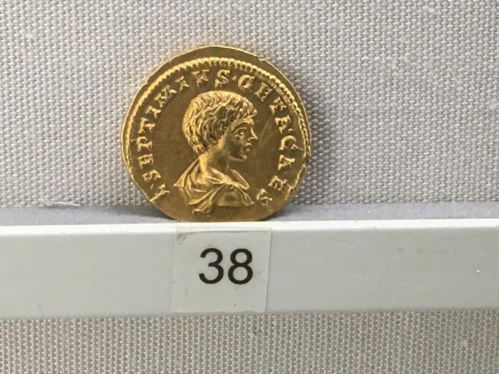 Sala numismatica Museo Nacional Romano en Palazzo Massimo (Alto Imperio), Roma Severo12