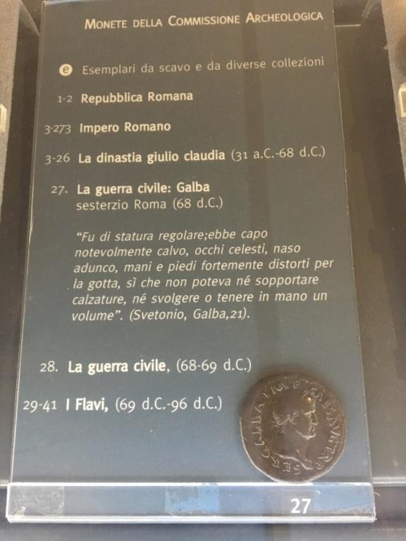 Monedas de la Comisión Arqueológica. Museos Capitolinos. Roma Siglo_10