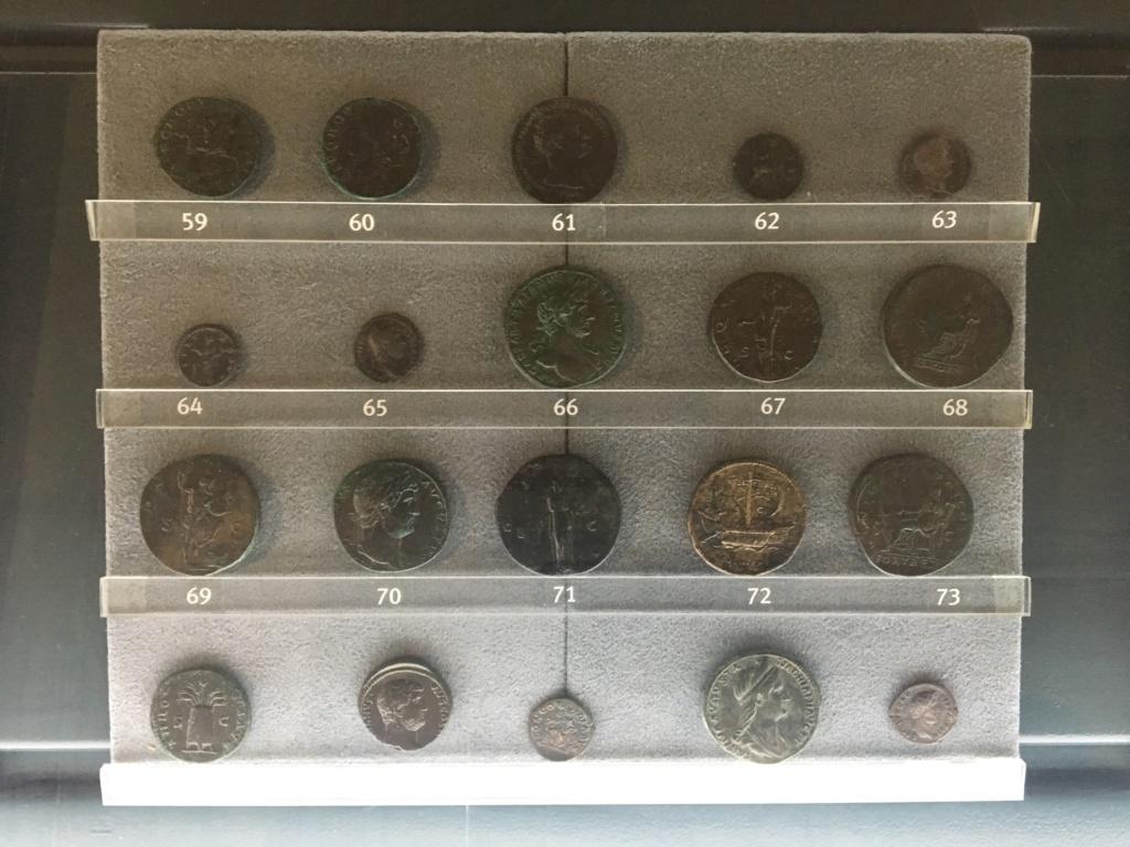 Monedas de la Comisión Arqueológica. Museos Capitolinos. Roma Siglo_17