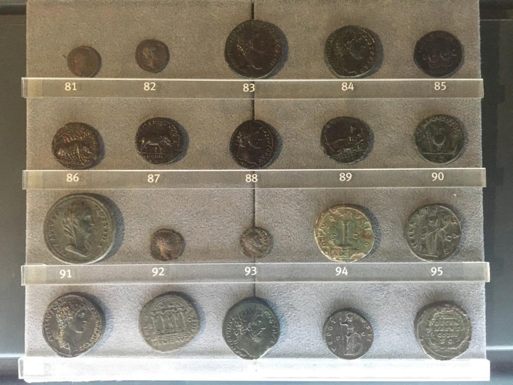 Monedas de la Comisión Arqueológica. Museos Capitolinos. Roma Siglo_18