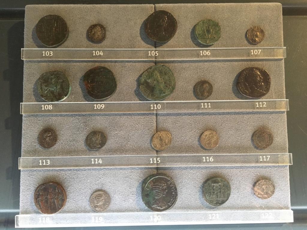 Monedas de la Comisión Arqueológica. Museos Capitolinos. Roma Siglo_21