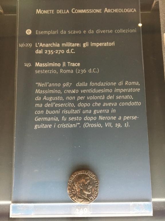 Monedas de la Comisión Arqueológica. Museos Capitolinos. Roma Siglo_22