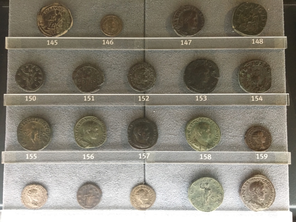 Monedas de la Comisión Arqueológica. Museos Capitolinos. Roma Siglo_23