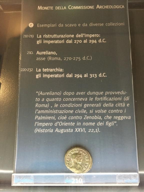 Monedas de la Comisión Arqueológica. Museos Capitolinos. Roma Siglo_25