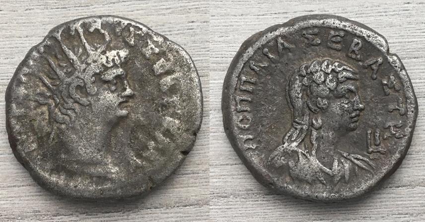 Tetradracma de Nerón, ΠΟΠΠΑΙΑ ΣΕΒΑΣΤΗ, Alejandría 63-64 dC. Tetra_10