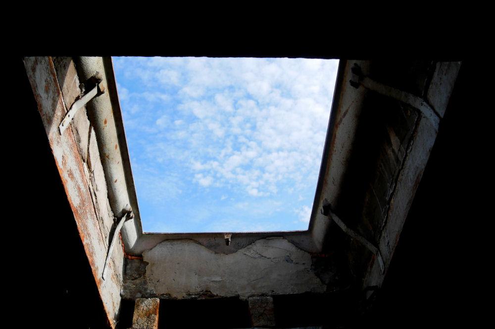 Depuis le toit à 10 mètres de hauteur Depuis10