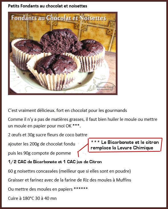 Fondants au Chocolat et Noisettes *** Fondan11