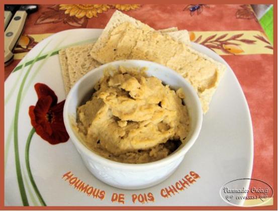 Houmous de Pois Chiches pour vos tartines  de  vannades  Houmou10