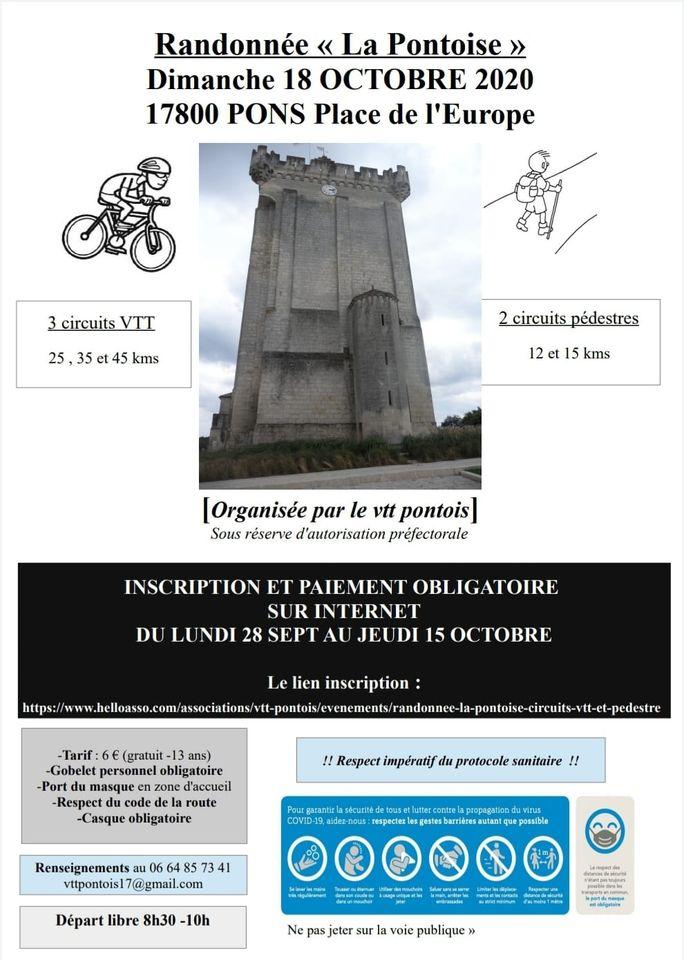 """Rando """"La Pontoise"""" (Pons 17) 12108210"""