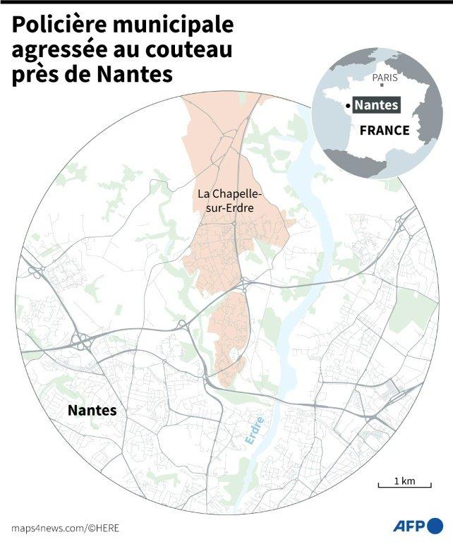 Une policière agressée au couteau près de Nantes, son agresseur décédé  661-af95