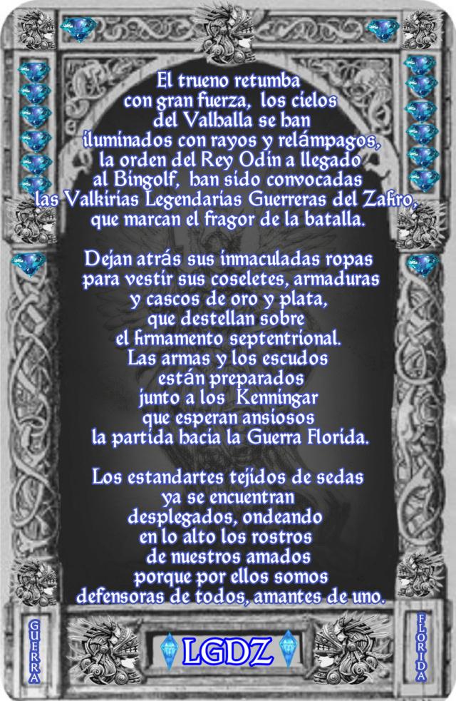 Presentación de las VALKIRIAS ⚔️⚔️⚔️LEGENDARIAS GUERRERAS DEL ZAFIRO⚔️⚔️⚔️BIENVENIDA. 16814812