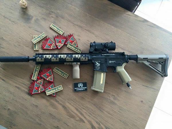 vend: HPA M4 custom réalisée chez powair6 61999710