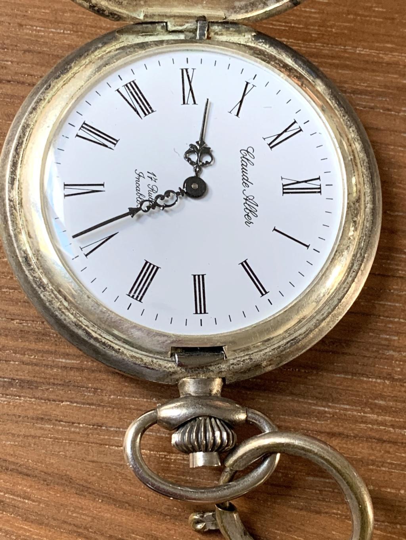 Ma montre de poche de ma «deuxième période de vie»... 5df46110