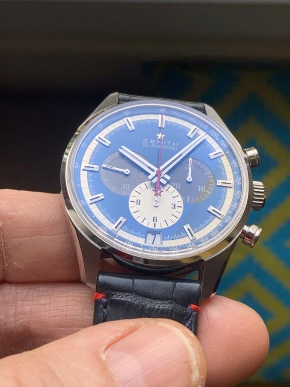 Zénith Elprimero 42mm bracelet acier de remplacement ? Ffd5c010