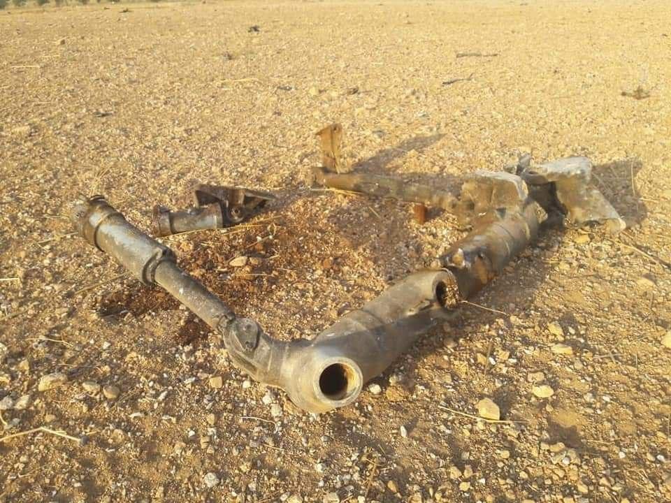 اللحظات الأولى لسقوط طائرة حربية في إدلب ١٤/٨/٢٠١٩ 1b290410